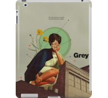 Grey iPad Case/Skin