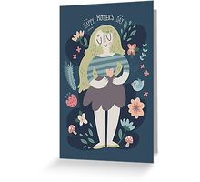 Happy Mother's Day Card Nature Design Greeting Card