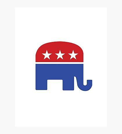 Proud Republican Photographic Print