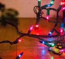 Christmas Tree Lights Sticker