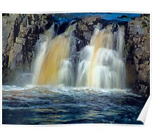 Low Force Waterfall Poster