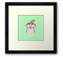Prout Cute  Framed Print