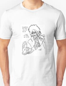 David Bowie as Jareth the Goblin King Tribute T-Shirt