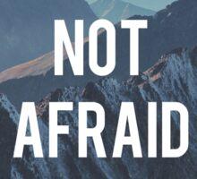 Not Afraid, Motivation, Nature Sticker