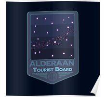 Star Wars - Come Visit Alderaan! Poster