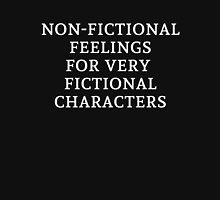 Non-Fictional Feelings for Very Fictional Characters (inverted) Unisex T-Shirt