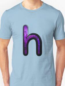 Watercolor - H - purple Unisex T-Shirt