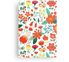 Cute flowers for Valentines Day Metal Print