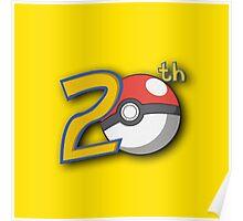 Pokemon's 20th Birthday! Poster