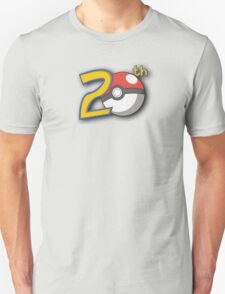 Pokemon's 20th Birthday! T-Shirt