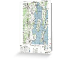 New York NY Rouses Point 136875 2000 50000 Greeting Card