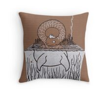 Nessie Throw Pillow