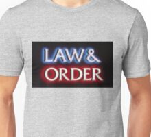 Pixelated Law and Order  Unisex T-Shirt