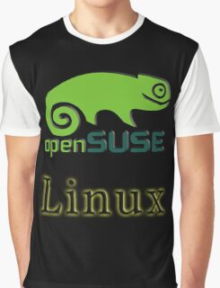 linux opensuse Graphic T-Shirt