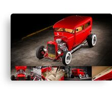 Rick Conway's 1928 Ford Hotrod Poster Canvas Print