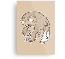 Sasquatch Friend Metal Print