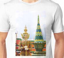 Guarding the Temple Unisex T-Shirt