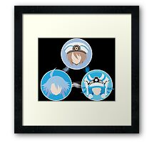 EXE Evolution - White Framed Print