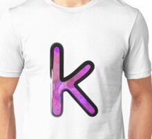 Watercolor - K - purple Unisex T-Shirt