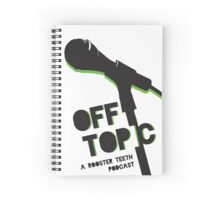 Off Topic Spiral Notebook