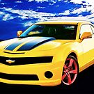 Camaro 2015 Yellow and Black by ChasSinklier