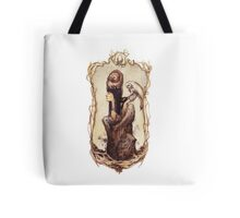 with a bit of Wise Hesitancy  Tote Bag