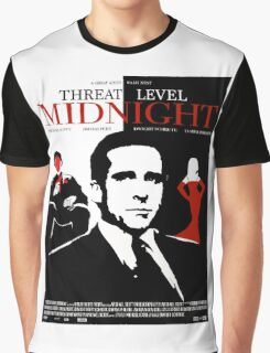 The Office: Threat Level Midnight Movie Poster Graphic T-Shirt