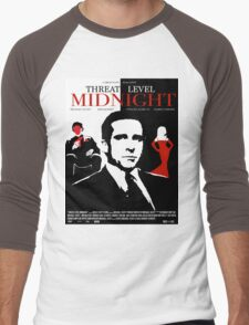 The Office: Threat Level Midnight Movie Poster Men's Baseball ¾ T-Shirt