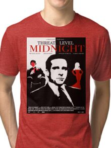 The Office: Threat Level Midnight Movie Poster Tri-blend T-Shirt