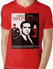 The Office: Threat Level Midnight Movie Poster Mens V-Neck T-Shirt