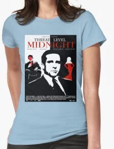 The Office: Threat Level Midnight Movie Poster Womens Fitted T-Shirt