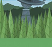 ENDOR - Forest Moon Emblem - Star Wars Sticker