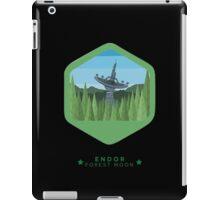 ENDOR - Forest Moon Emblem - Star Wars iPad Case/Skin