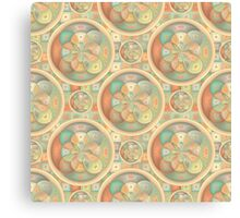 Complex geometric pattern Canvas Print