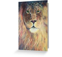 Aslan's Eyes Greeting Card