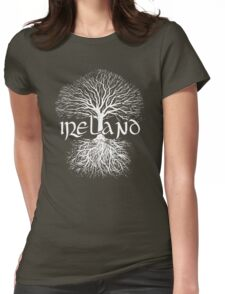 Ireland - Tree of Life Womens Fitted T-Shirt