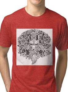 Hidden fox  Tri-blend T-Shirt