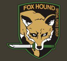 Metal Gear Solid - Fox Hound Emblem by Yanki