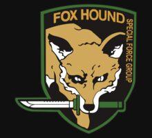 Metal Gear Solid - Fox Hound Emblem One Piece - Short Sleeve