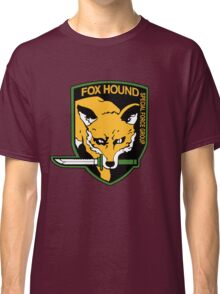 Metal Gear Solid - Fox Hound Emblem Classic T-Shirt