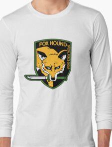 Metal Gear Solid - Fox Hound Emblem Long Sleeve T-Shirt