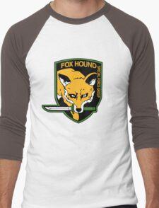 Metal Gear Solid - Fox Hound Emblem Men's Baseball ¾ T-Shirt