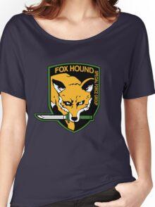 Metal Gear Solid - Fox Hound Emblem Women's Relaxed Fit T-Shirt