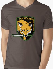 Metal Gear Solid - Fox Hound Emblem Mens V-Neck T-Shirt