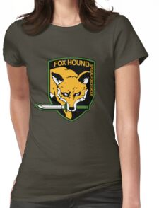 Metal Gear Solid - Fox Hound Emblem Womens Fitted T-Shirt