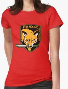 Metal Gear Solid - Fox Hound Emblem Womens Fitted T-Shirt