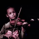 Violinist  by RockyWalley