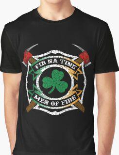 Fir na Tine - Men of Fire Graphic T-Shirt