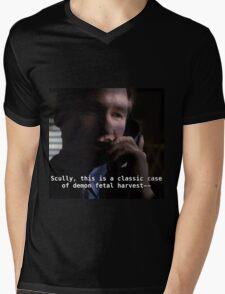 Duh, Scully Mens V-Neck T-Shirt