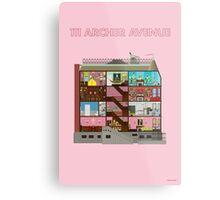 111 Archer Avenue from The Royal Tenenbaums Metal Print